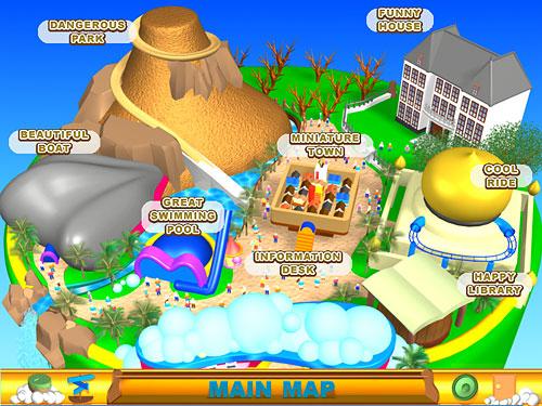 ゲームモード メイン画面