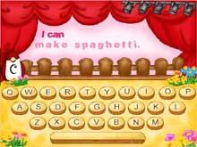 タイピングゲーム 動詞の学習
