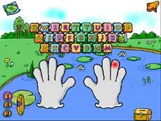 英語のタイピングゲーム