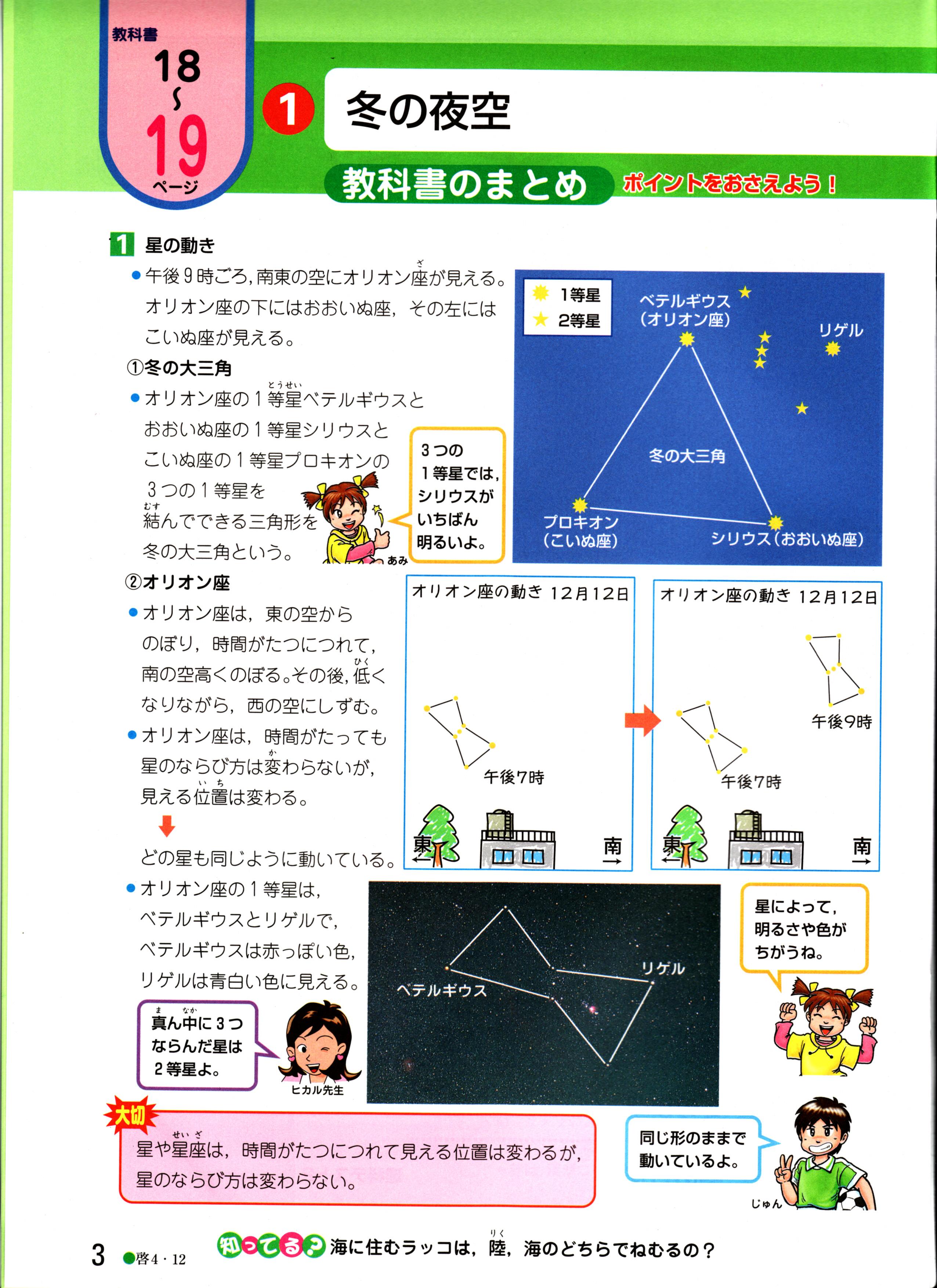 小4ポピー理科(啓林)内容